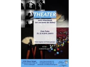 Theaterplakat WiSe 2019/20